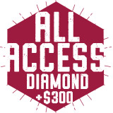 All Access Diamond Plus $300 $2,150.00